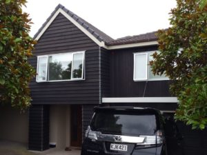 Western Heights House Exterior Cedar Siding Staining-House Painters West Auckland