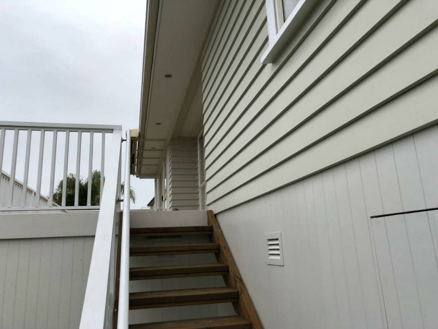 Bethells Beach House Exterior Painting-House Painters West Auckland