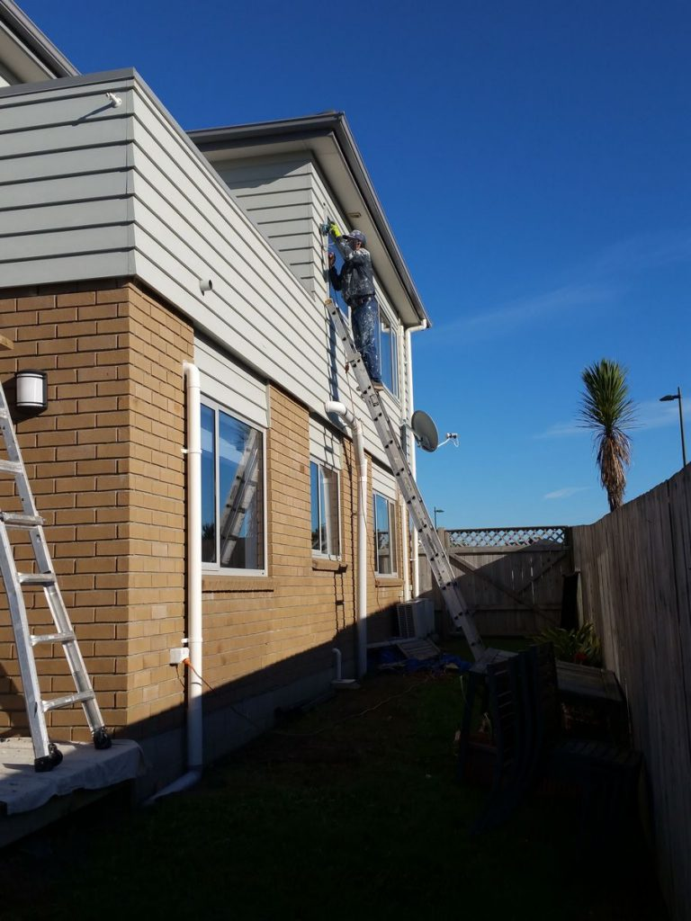 Waterview House Exterior Painters-House Painters West Auckland