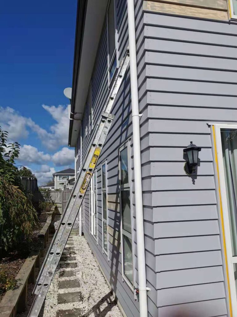 West Harbour House Exterior Painting-House Painters West Auckland