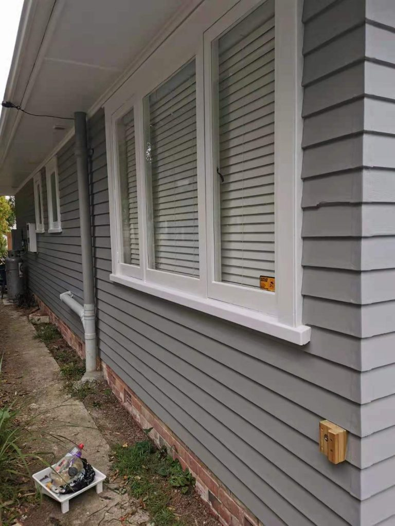 Weatherboard Flat Exterior Painting-House Painters West Auckland